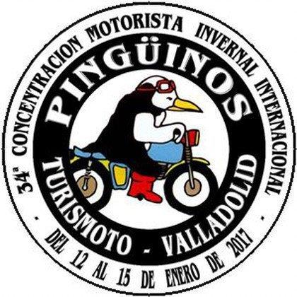 concentracion motera pinguinos logo