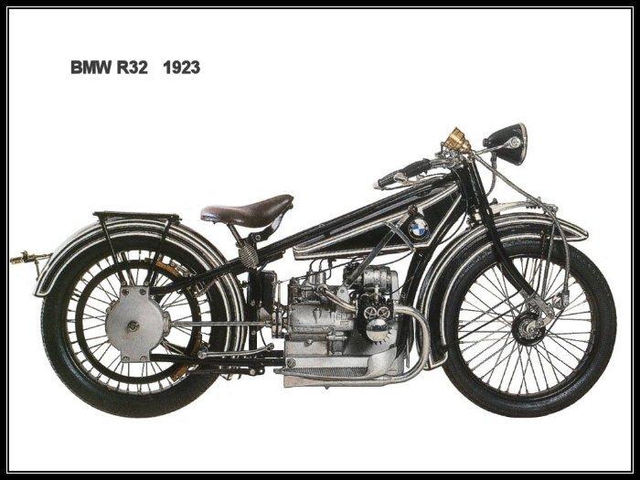 historia de la primera moto bmw 1923-R32-1A