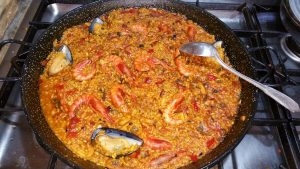 platos en la carta de la peña gastronomica el berrueco