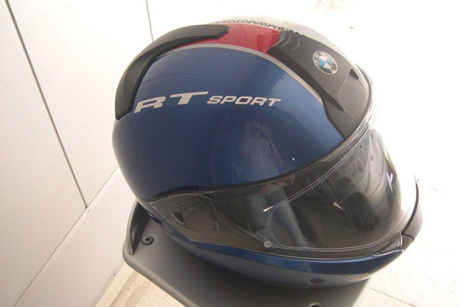 Reparación casco BMW RT Sport | Talleres El Venta